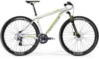 ВЕЛОСИПЕД MERIDA BIG NINE 40 WHITE/LIGHT GREY/GREEN (2015)