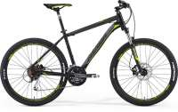ВЕЛОСИПЕД MERIDA BIG SEVEN 100 MATT BLACK/DK. GREY/GREEN (2015)
