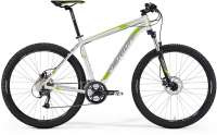ВЕЛОСИПЕД (2015) MERIDA BIG SEVEN 40 WHITE/LIGHT GREY/GREEN