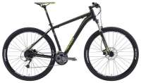 ВЕЛОСИПЕД MERIDA (2015) BIG NINE 300 MATT BLACK/GREY/YELLOW