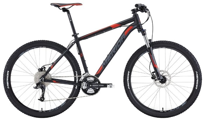 ВЕЛОСИПЕД MERIDA (2015) BIG SEVEN 70 MATT BLACK/DK.GREY/SIGNAL RED