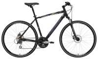 ВЕЛОСИПЕД MERIDA (2015) CROSSWAY 20D MATT ANTHRACITE/DARK GREY/SKY BLUE