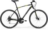 ВЕЛОСИПЕД MERIDA (2015) CROSSWAY 20D TFS STYLE MATT BLACK/DK.GREY/YELLOW