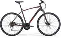 ВЕЛОСИПЕД MERIDA CROSSWAY 100 MATT ANTHRACITE/RED/BLACK (2015)